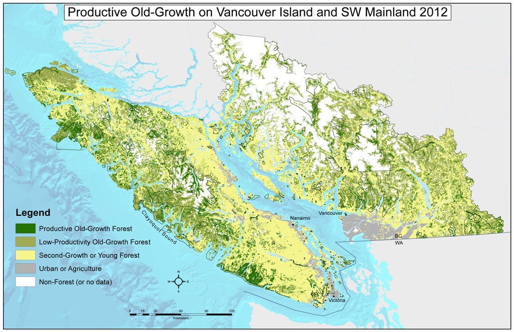 Canada Virgin Forest Map Before & After Old Growth Maps   Ancient Forest Alliance