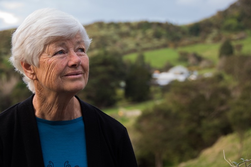 Former co-Leader of the Green Party of Aotearoa New Zealand (1995 to 2009) Jeanette Fitzsimons
